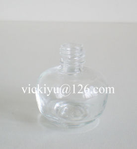 Pumpkin-Shaped Small Glass Bottles for Nail Polish 10ml
