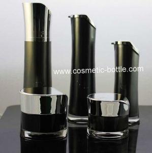Acrylic Essence Cream Jar Lotion Bottle (FA-04-J15)