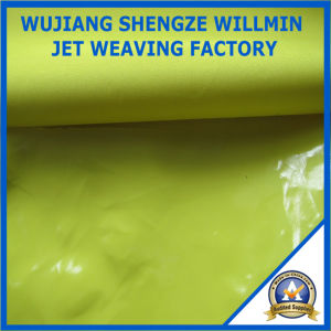 Mirror Surface Shiny Coating Spandex 4-Way Stretch Fabric pictures & photos