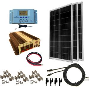 1kw-2kw-3kw-4kw-5kw-10kw off Grid PV Power Supply Solar Energy System pictures & photos