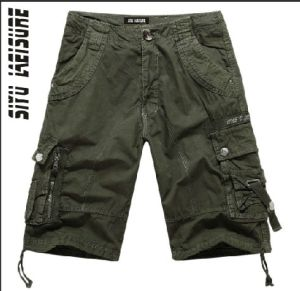 Men Cotton High Quality Fashion Board Bermuda Shorts (YF001) pictures & photos