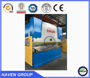WC67Y-125/3200 Hydraulic press brake steel plate bending machine pictures & photos