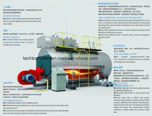 Oil Fired Gas Fired Industries Steam Boiler pictures & photos