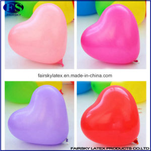 Children′s Gift Heart Shape Colorful Balloon pictures & photos