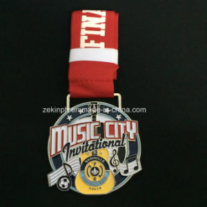 Music City Competition Award Medal with Ribbon pictures & photos