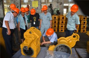 Nodular Iron Castings, Ggg50 Casting Parts, Machined Casting Parts