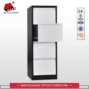 High Quality Galvanized Slider 4 Drawer File Cabinet pictures & photos