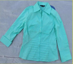 Used Clothing for Africa/Ladies Cotton Blouses pictures & photos