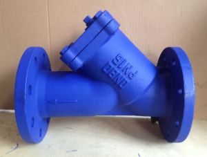 Y Type flange end Strainer PN16 pictures & photos