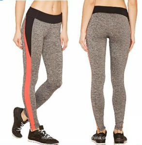 Customized OEM Casual Skinny Hot Sale Sex Women Active Colorblock Leggings pictures & photos