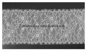 Hot Sell Fashion Eyelash Lace Trimming for Garment 008 pictures & photos