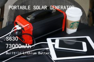 Lightweight Solar Inverter Generator Solar Energy Storage System 73000mAh pictures & photos