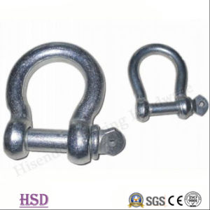 Marine Rigging E. Galvanized European Bow Type Shackle for Connecting pictures & photos