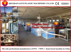Environment Protection PVC Foam Board Extrusion Line pictures & photos