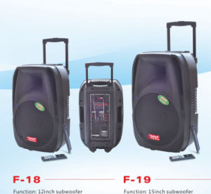 Rechargeable Battery Speaker Portable Speaker (F18) pictures & photos