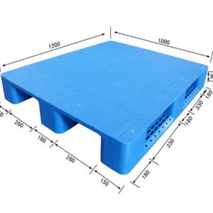HDPE Large Heavy Duty Blow Molding Plastic Pallet pictures & photos