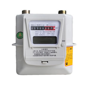G1.6/2.5/4/6 Wireless Household LPG Gas Flow Meter pictures & photos