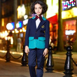 Custom Chinese Style School Uniform Blazer pictures & photos
