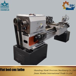 6 Stations Electric Tool Post Flat Bed CNC Lathe (CKNC6136A) pictures & photos