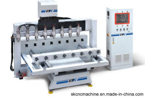 Hot Sale Sk CNC Rotary Engraving Machine (SK-RVG3012*8)