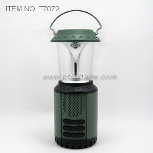 Dynamo Solar Camping Light with Radio (T7072) pictures & photos