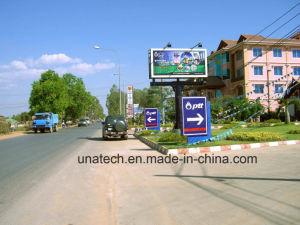 Outdoor Ads Aluninium Frame LED Spotlighting Slid PVC Vinyl Tri-Vision Billboard Signage pictures & photos