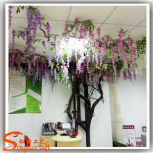 Office Ornament Wisteria Flower Artificial Wisteria Flower Tree pictures & photos