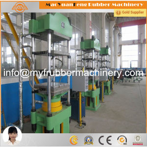 Rubber Vulcanizing Moulding Press/Column or Pillar Type Rubber Curing Press Machine/PLC Control Rubber Vulcanizing Machine pictures & photos