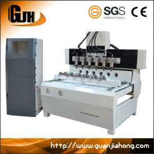 2010-6 3D & 2D Multi-Spindle 4 Axis CNC Router Machine pictures & photos