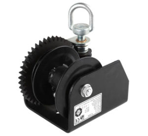 Worm Gear Double Reel Winch (H-2000) pictures & photos