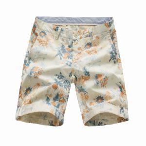100% Cotton Flower Printed Men′s Shorts (41319G5) pictures & photos