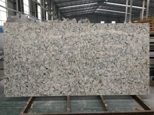 Wholesale Marble Color Artificial Quartz Stone for Countertops and Slabs pictures & photos