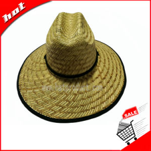 Natural Straw Hat Hollow Straw Hat Straw Sun Hat pictures & photos