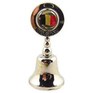 Belgium Gift Metal Dinner Bell Souvenir with Custom Logo (F8016) pictures & photos