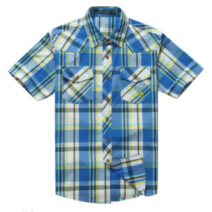 100%Cotton, Men′s Shirts, Casual Shirts, Short Sleeve Shirt