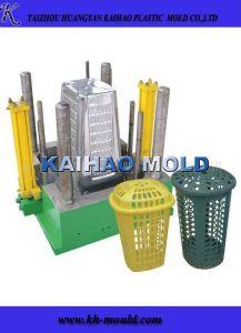Plastic Trash Bin Injection Moulding Maker (KH-2013010) pictures & photos