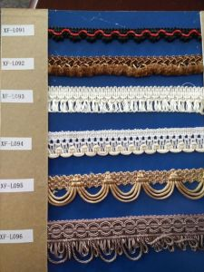 High Quality Curtain Fringe pictures & photos