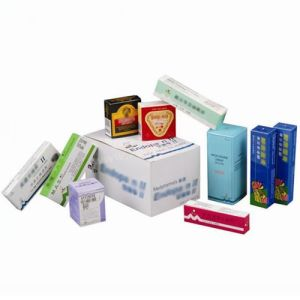 Custom Printed Cardboard Box for Medicine Personal Care pictures & photos