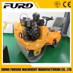 Ride on Double Drum Diesel Engine Vibratory Roller pictures & photos