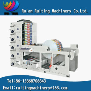 Rtry-580e Wide Roll 5 Colors Paper Cup Flexographic Printing Machine pictures & photos