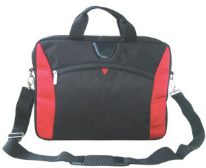 Red and Black Laptop Bag Messenger Bags (SM8573) pictures & photos