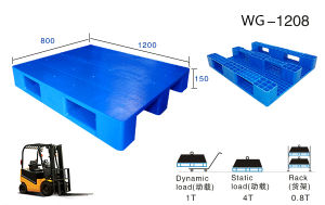 Suzhou Manufacturer Professional Manufacturer of Plastic Pallet pictures & photos
