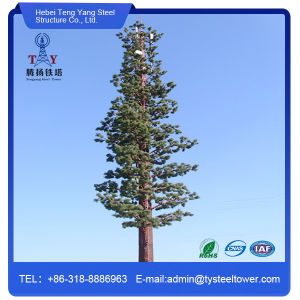 Teng Yang Hot DIP Galvanized Telecom Camouflaged Antenna Monopole pictures & photos