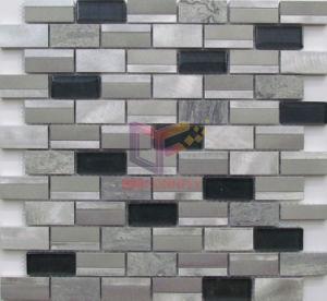 Modern Design Aluminium Mixed Mosaic for Wall Decoration (CFA107) pictures & photos