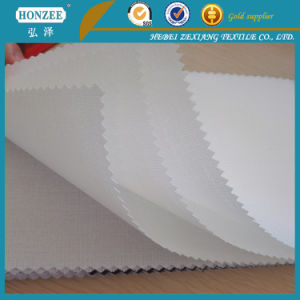 China Supplier Woven Cap Interlining (T/C) pictures & photos