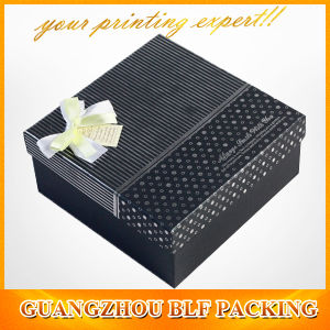 Matte Black Gift Paper Box pictures & photos
