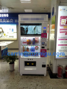 Large Screen Vending Machine for Cold Beverage & Snack 8c (32HP) pictures & photos