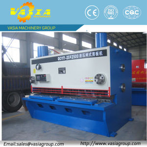 Metal Shearing Machine with Delem Dac310 CNC Control pictures & photos
