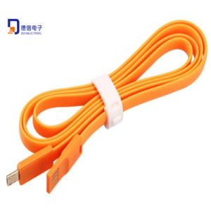 New Design 1m Flat Micro USB Cable for Smartphones pictures & photos