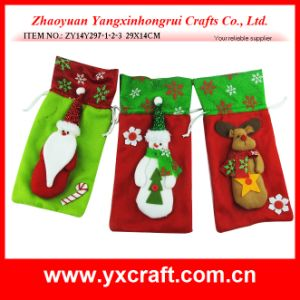 Christmas Decoration (ZY14Y297-1-2-3) Christmas Wine Retailer Promotion Gift Idea pictures & photos